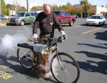 Roper Steam Motorcycle