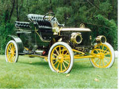 Our Families Car - 1907 - Model EX - #3595 - Purchased from second owner in 1925 in Dexter, New York by K B Foster.  (79 years in one family)  Restored.  Received third place at Pebble Beach - 1997.  Steaming EXcellently today!