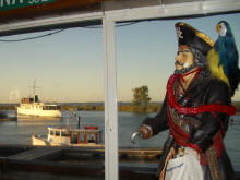 Pirate at The Rusty Porthole, Bethel Island